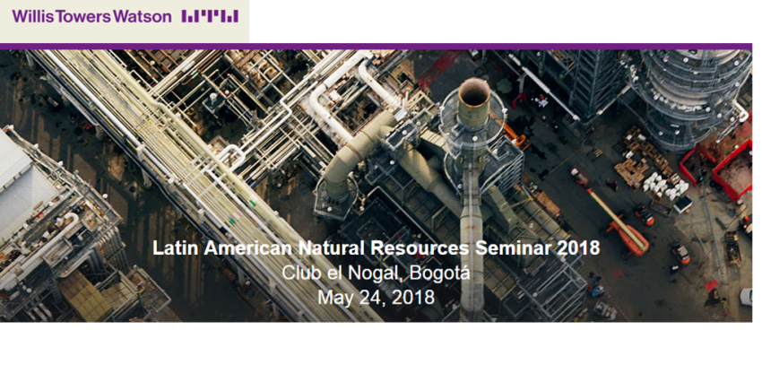 rts international loss adjusters will share their knowledge and experience at the willis towers watson 2018 latin american natural resources seminars